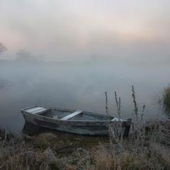 Этот зыбкий туман над рекой…