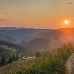 Ранок на Буковецькому перевалі.