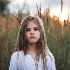 Просто детский портрет