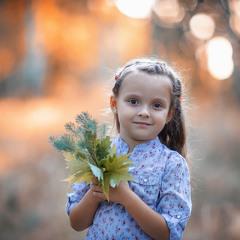 Детский портретик)
