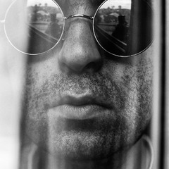 Self-Portrait in the Window
