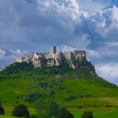 Замок Спишский Град (Словакия).