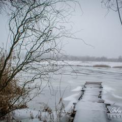 Зимовий місточок...