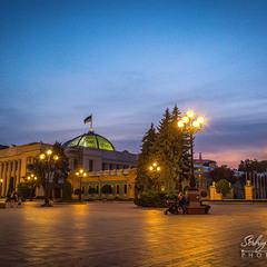 Київ вечірній...