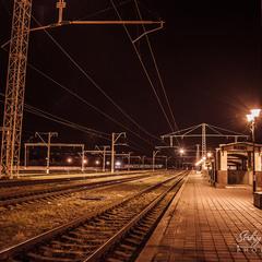 Залізничні колії...
