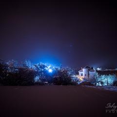 Зимова ніч...