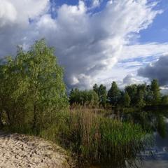 Грозовий пейзаж Конча Заспи