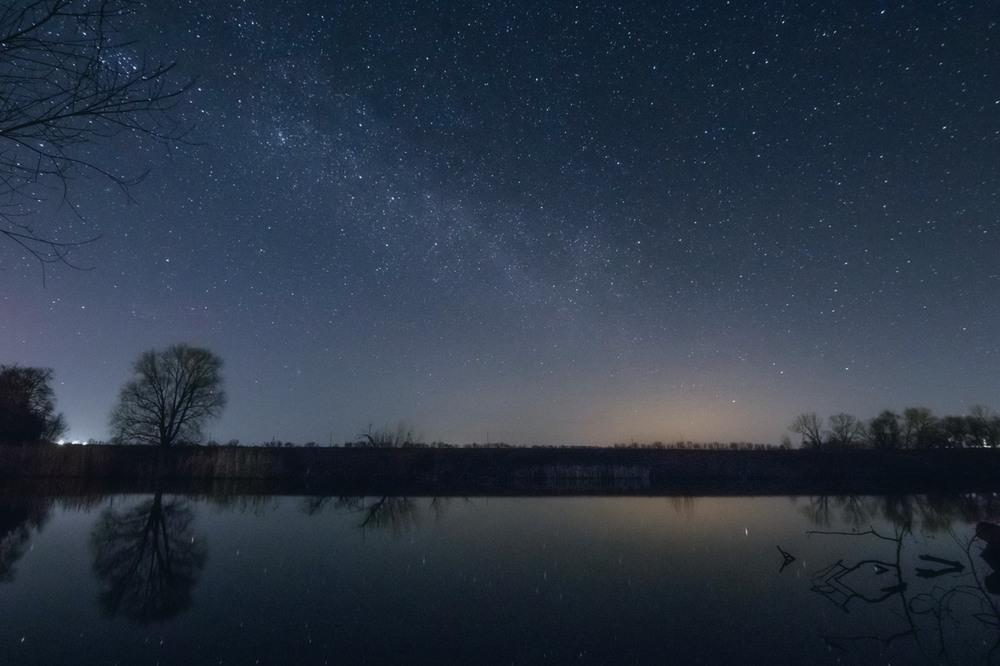 Как менять небо на фото в инсте нескольких
