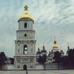 Золотые купола ...