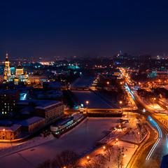 вогні нічного міста
