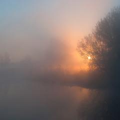 сонце в туманi