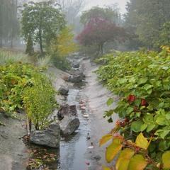 У осенней погоды два берега непогоды