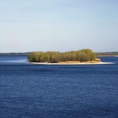 Дніпровські острови.
