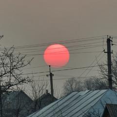 Червоне сонце
