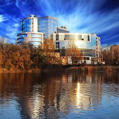 Красивое здание в Запорожье