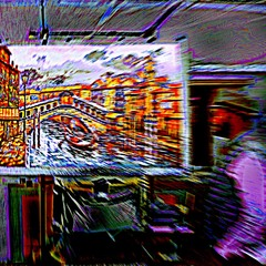 Худ.- импрессионист Тибериус (Венеция).