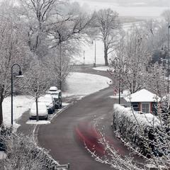 Туманный снегопад