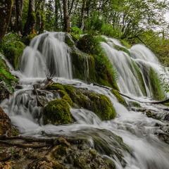 Чудо плитвицких озёр и водопадов