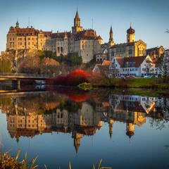 Замок династии Гогенцоллернов (город Зигмаринген)
