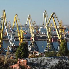 Одесский порт...