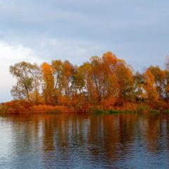 Осінній Дніпро