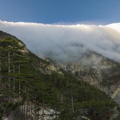 Одеяло облаков