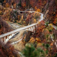 Румыния. Карпаты. Трансфэгарашское шоссе