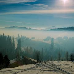 Утро в облаках(вариант 2)