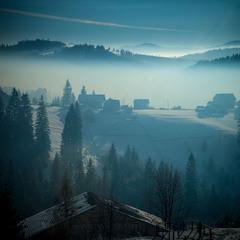 Утро в облаках(вариант 3)