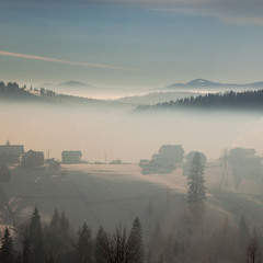 Утро в облаках