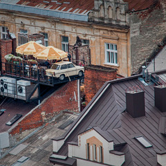 Кофейня Карлсона, который живет на крыше