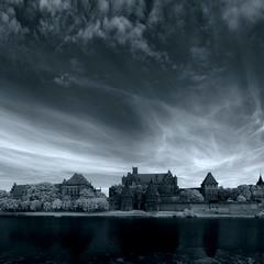Мальборкський замок, ІЧ світлина