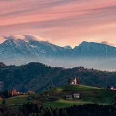 Сонце встає... Юліанські Альпи