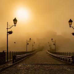 Ранковий сон старої фортеці