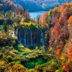 Барви Плітвицьких озер