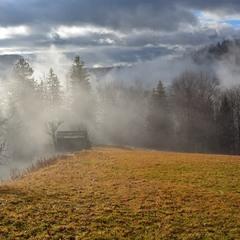 Туман-туман горою