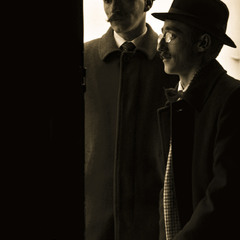 """Holmes and Watson"""
