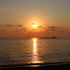 вечірнє море