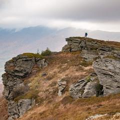 На скелях Вододільного