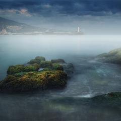 Ялта. Холодный шепот моря..