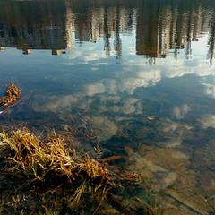 Тучи в воде