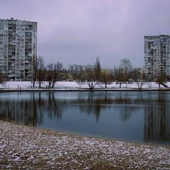 Озеро в місті