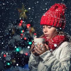 Xолодно снегурочке маленькой зимой