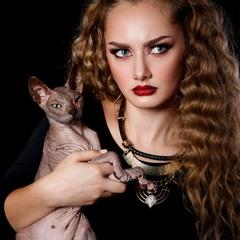 Портрет с Кошечкой