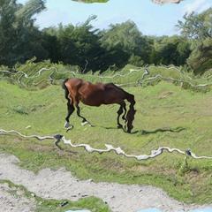 horse (glitch#01)