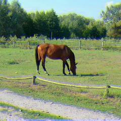 horse (glitch #1)