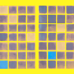 Yellow. Glass. Past
