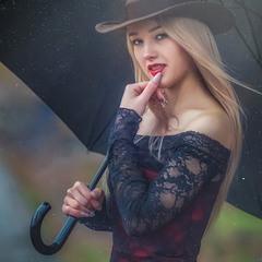 Духм'яна юність, дощ і парасолька)...