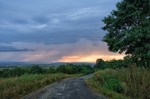 Вечір, і дощ попереду...