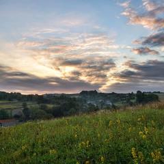 Ранком край села...